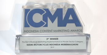 suzuki-raih-3rd-best-influencer-marketing-award-di-icma-2019